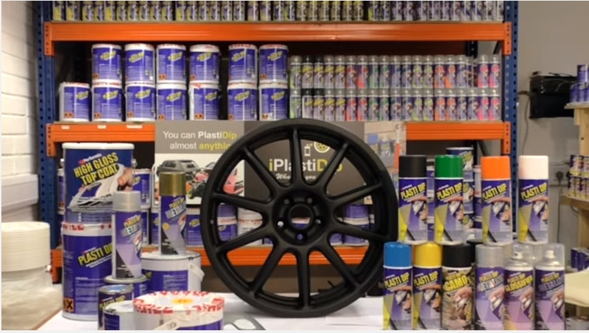how to clean rims for plasti dip