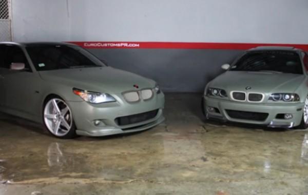 Plasti Dip BMW – Camo Green – EuroCustomsPR
