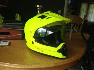 Plasti Dip Blaze yellow helmet
