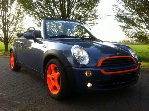 blaze orange wheels trim