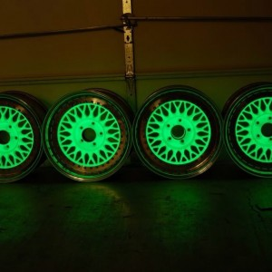 plasti dip glow in the dark wheels