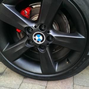 Plastidip Black wheel
