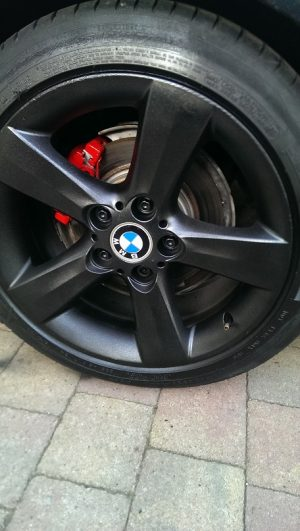 Plastidip Black wheel