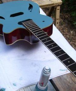 spray your guitar