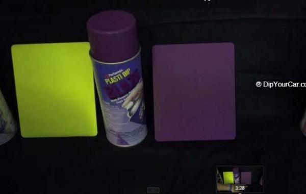 Plasti Dip Blaze colours