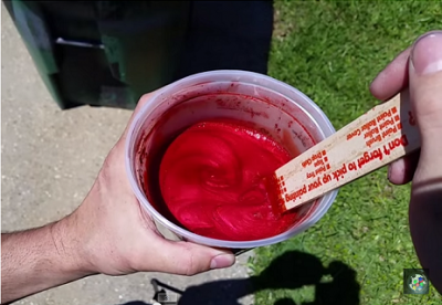 Plasti Dip Crimson Red with Pro FX Pigments