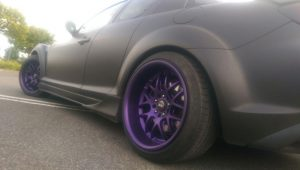 Midnight Purple Galaxy
