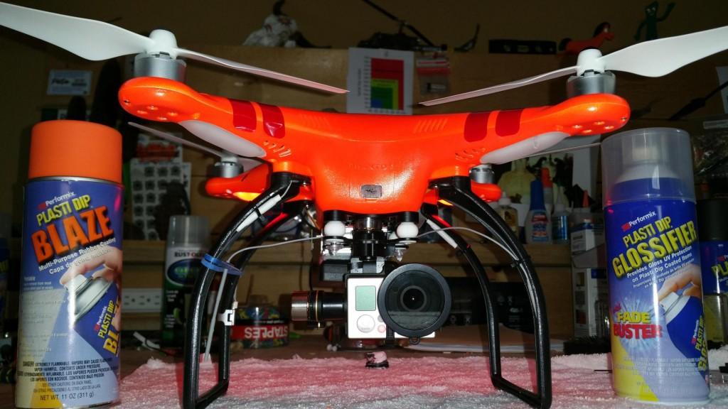 Quadcopter in plastidip