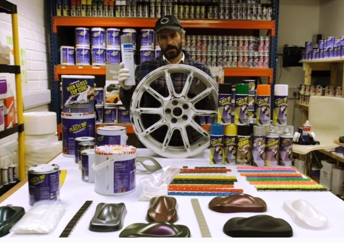 How to Plasti Dip Car Wheels