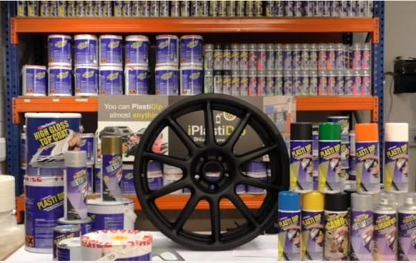 How to Plasti Dip matte black car wheels