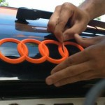Plastidip blaze orange badge
