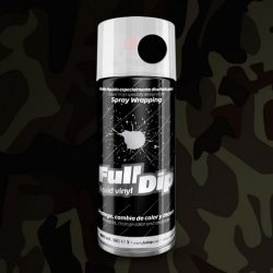 full dip camo black