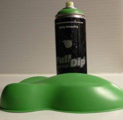full dip lime green