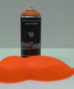 full dip orange fluorescent