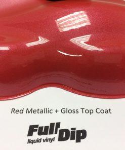 full dip red metallizer